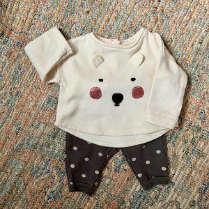 Zara Baby Set | 3-6m